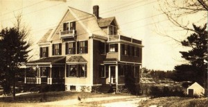 Early photograph of 13 Maple Road