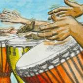 dance and drum